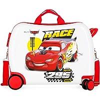 Disney Cars Joy Maleta Infantil Multicolor 50x38x20 cms Rígida ABS Cierre combinación 34L 2,1Kgs 4 Ruedas Equipaje de…