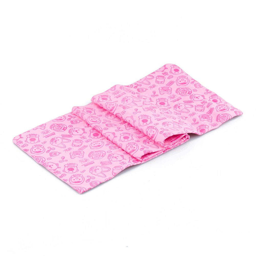 pink Red Pet Grooming Drying Microfiber Bath Cooling Towel for Cleaning Cats Dogs, 33  x 13 , Super Absorbent Easy to Clean Extra Soft Won't Trap Fur(pink Red)