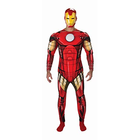 Ml Avengers Costume 48 Uomini Iron Toys 54 Vestito Man Net Supereroe wZAaPqa