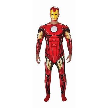 NET TOYS Disfraz Iron Man Traje Hombre superhéroe XL 56/58 ...