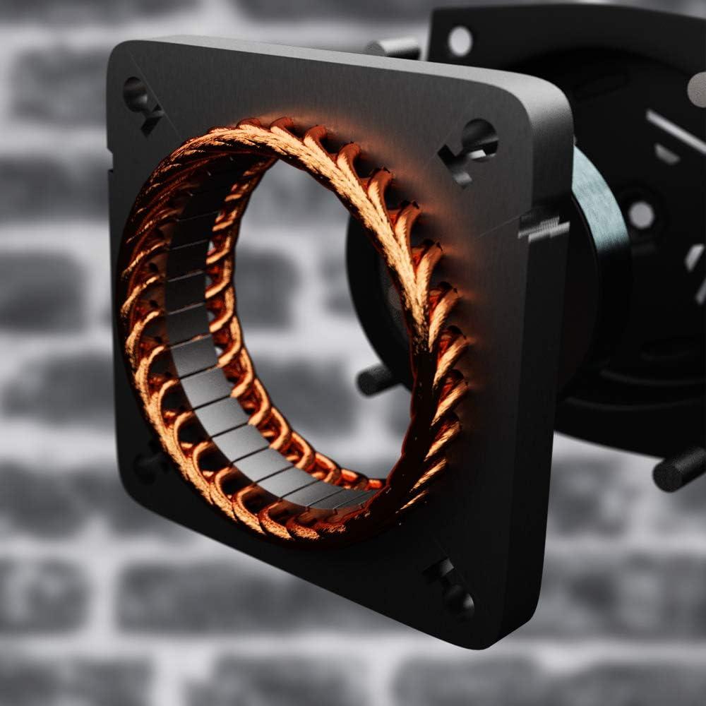Acabado Cromado Ajustable 3 Velocidades 51cm Cecotec Ventilador Industrial ForceSilence 5000 Pro 3 Aspas Met/álicas de 20 120 W,120 W Motor de Cobre