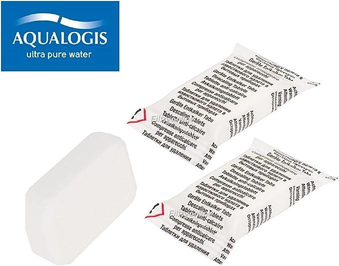 aqualogis descalcificador pastillas antical para cafeteras cápsula ...