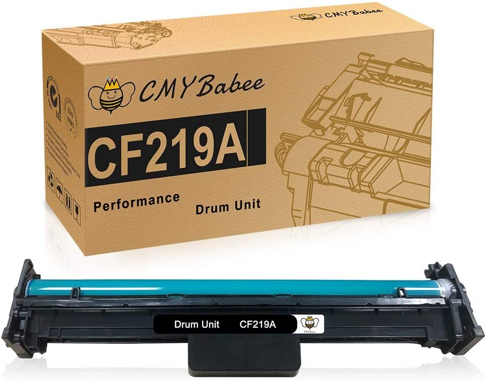 CMYBabee Compatible Drum Unit Replacement for HP 19A CF219A to use with HP Laserjet Pro M102w M102 M102a M130fw M130fn MFP M130nw M130a Printer (Black, 1-Pack)