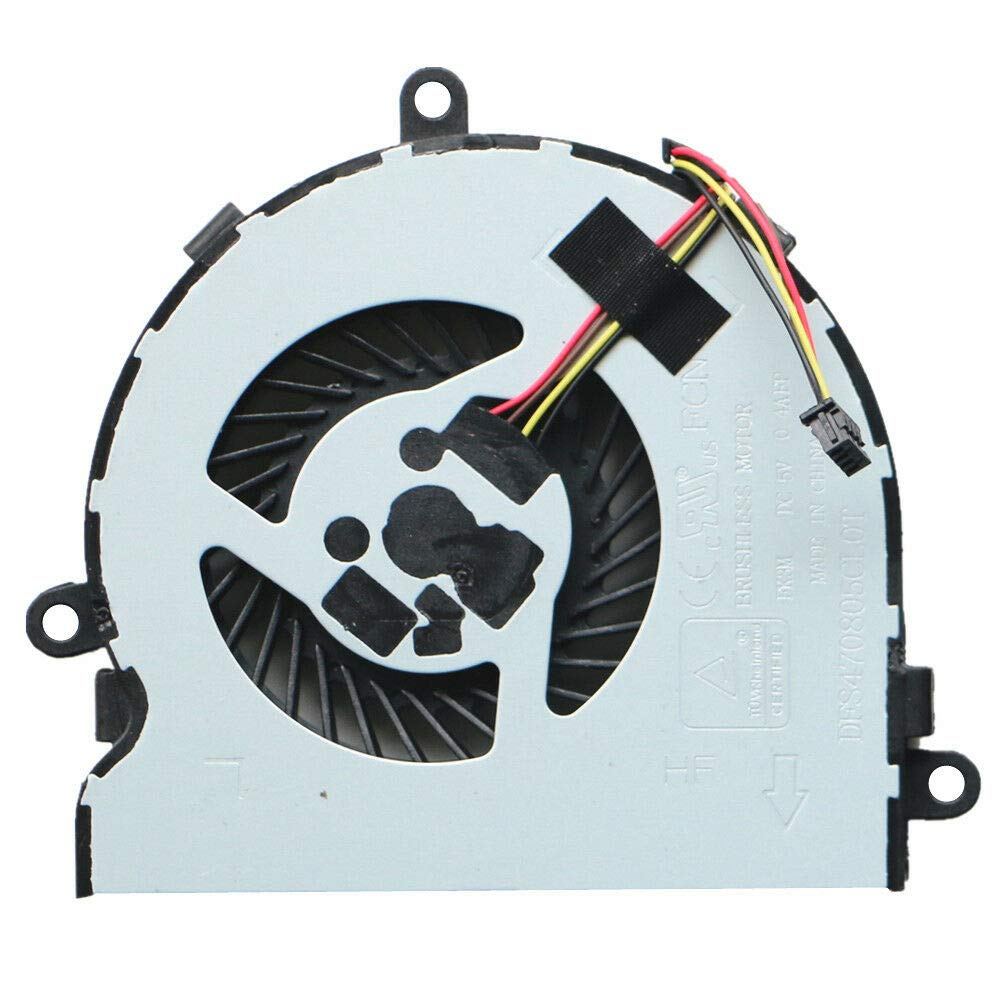 Replacement CPU Fan for HP 15-bs Series, 15-bs001 15-bs002 15-bs015dx 15-bs016dx 15-bs009ca 15-bs002ca 15-bs023ca 15-bs085nr 15-bs087nr 15-bs077nr 15-bs078nr Laptop P/N: 925012-001