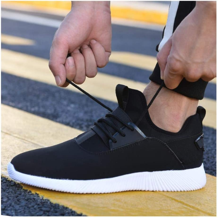 WAXFAS Autumn and Winter Wild Sports Shoes, Non-Slip Wear-Resistant Running Shoes, Fashion Low-Flying Sneakers 44