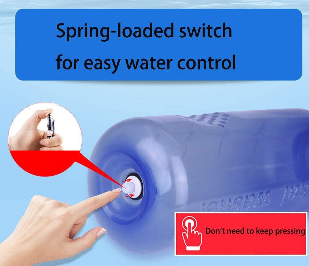 Zcthk Nasensp/ülflasche 300ml Nasenreiniger Clean Irrigator Allergien Reliefdruck Sp/ülen Neti Pot mit Zwei Ausl/äufen f/ür Kinder Erwachsene Sinus Cleaner