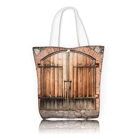 Amazoncom Canvas Tote Handbag W165 X H14 X D7 Inchreusable - 100-wood-and-stone-house