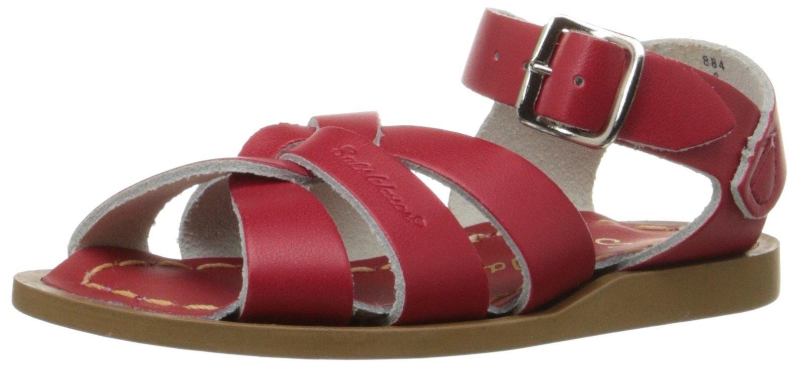 Salt Water Sandals by Hoy Shoe Original Sandal (Toddler/Little Kid/Big Kid/Women's), Red, 7 M US Big Kid