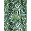 Decomall Monet Contemporary Outdoor Indoor Area Rug for Patio Deck Backyard