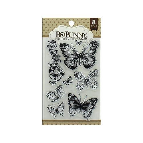 Bo Bunny BBU12105027 Butterfly Kisses Stamp