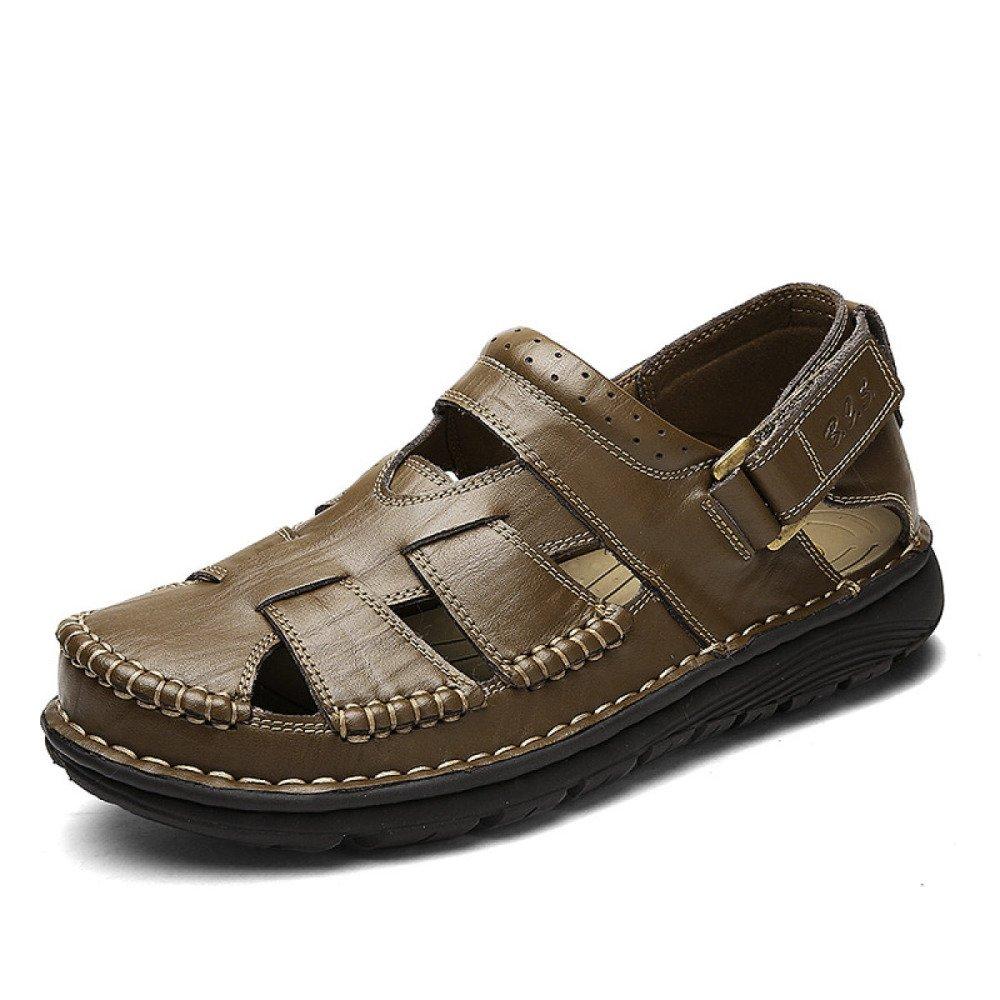 Sandalias Hechas A Mano Verano Baotou Beach Shoes Antideslizante Al Aire Libre 42 EU|Green