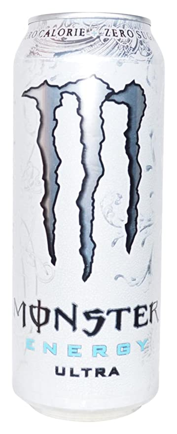 Monster Energy Ultra Zero Calorias, Zero Azúcar - 500 ml