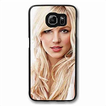 Amazon Com Protect Shell Case Custom Design Britney Spears Wallpaper Case For Samsung Galaxy S6 Suitable For Men Electronics