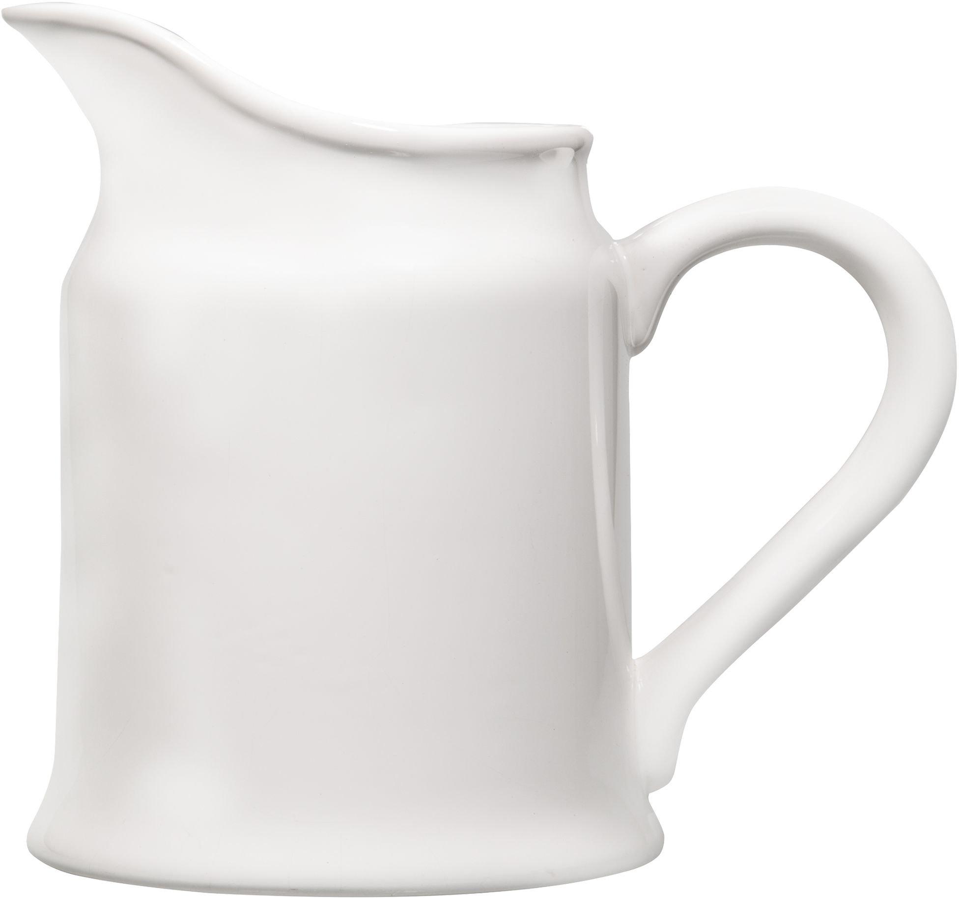 Home Essentials 64 Oz White Messina Pitcher