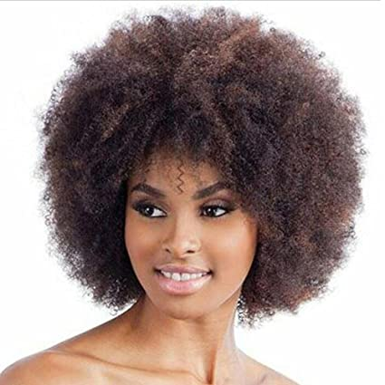 1234 Peluca resistente al calor mujer, peluca de pelo largo y marrón para mujer Forever