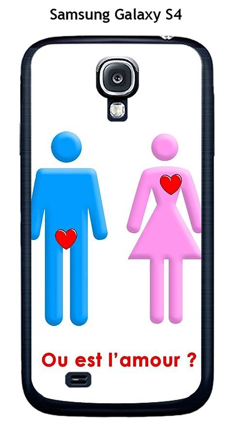 Onozo Carcasa Samsung Galaxy S4 diseño o EST el Amor con ...