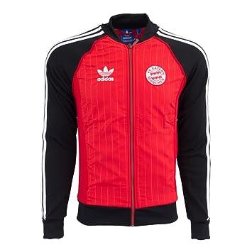 Adidas Herren Originals FC Bayern Superstar Track Top