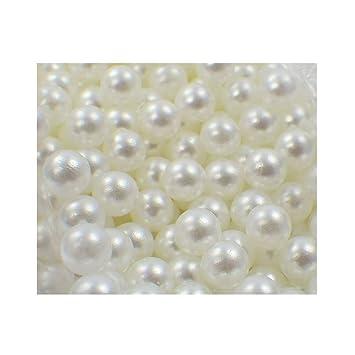 1000 Dekoperlen Dekokugeln Bastelperlen lose Perlen ohne Loch 8mm Kupfer