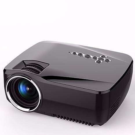 Mini proyector, elegiant portátil Android 4.4.2 1200 lumens WiFi ...
