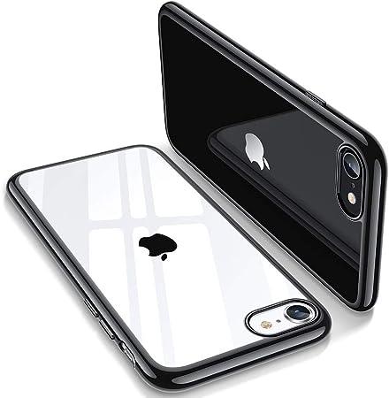 ESR Cover Compatibile con iPhone SE 2020,8,7, Essential Zero Custodia in TPU Morbido, Trasparente Custodia in Silicone Flessibile Compatibile con ...