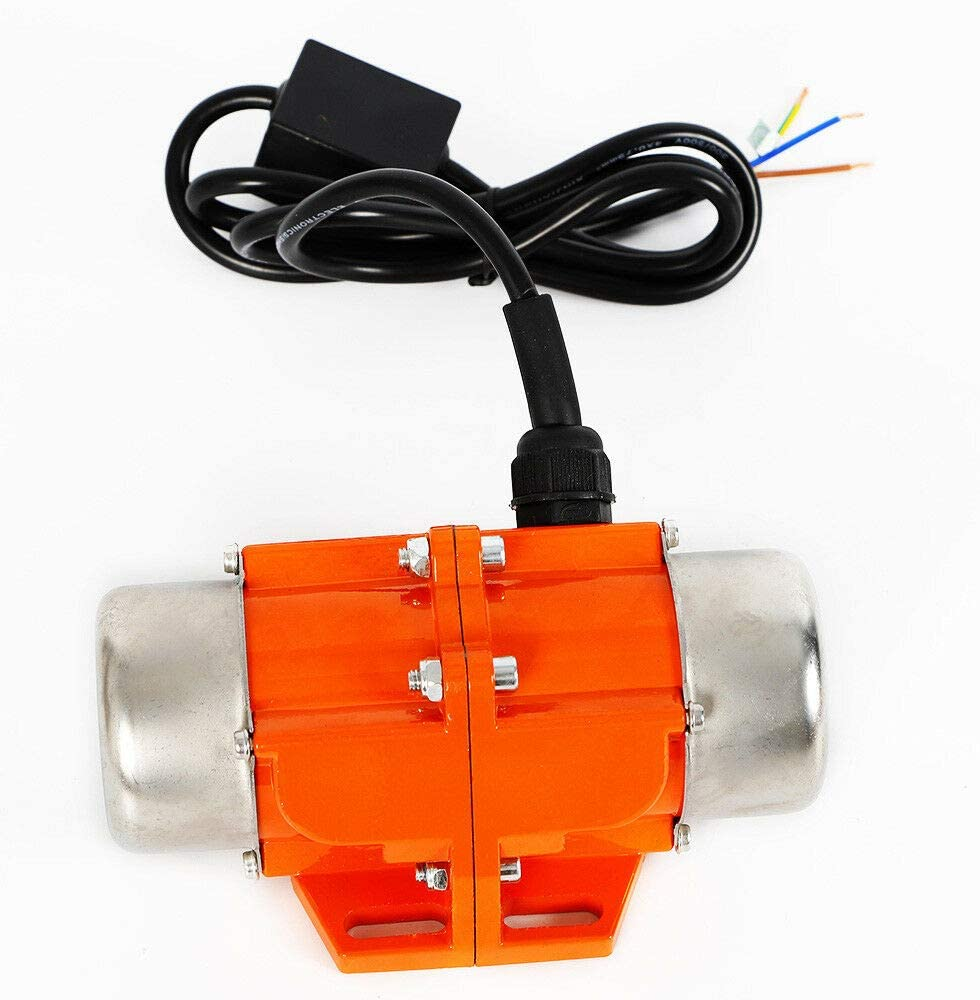 50W WUPYI Concrete Vibrator Vibration Motor 40W AC100V 3600rpm Industrial Asynchronous Vibrator for Shaker Table