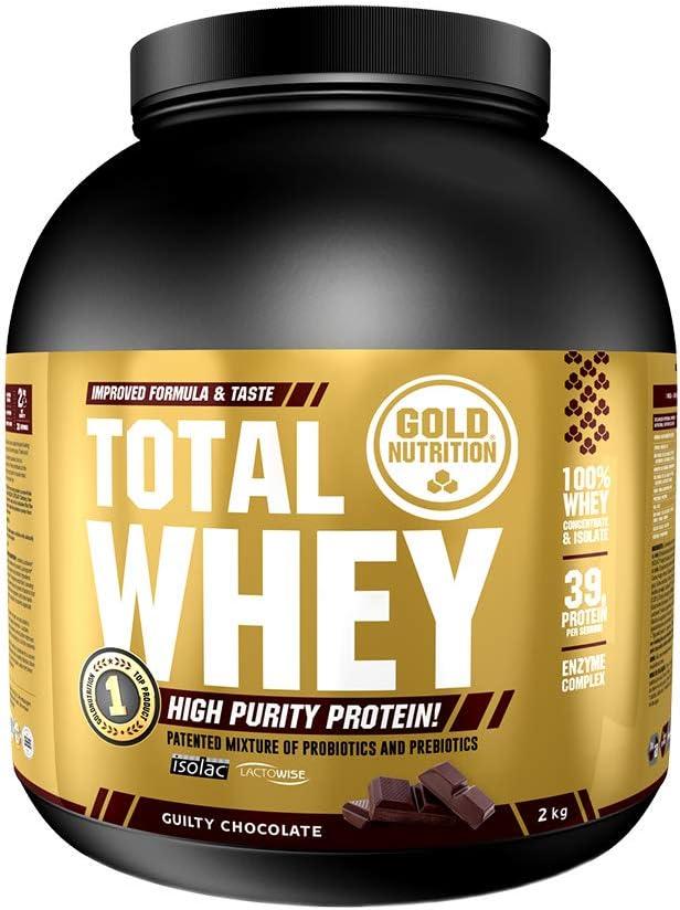 Goldnutrition Total Whey Proteina 2kg, Chocolate, Aumenta y ...