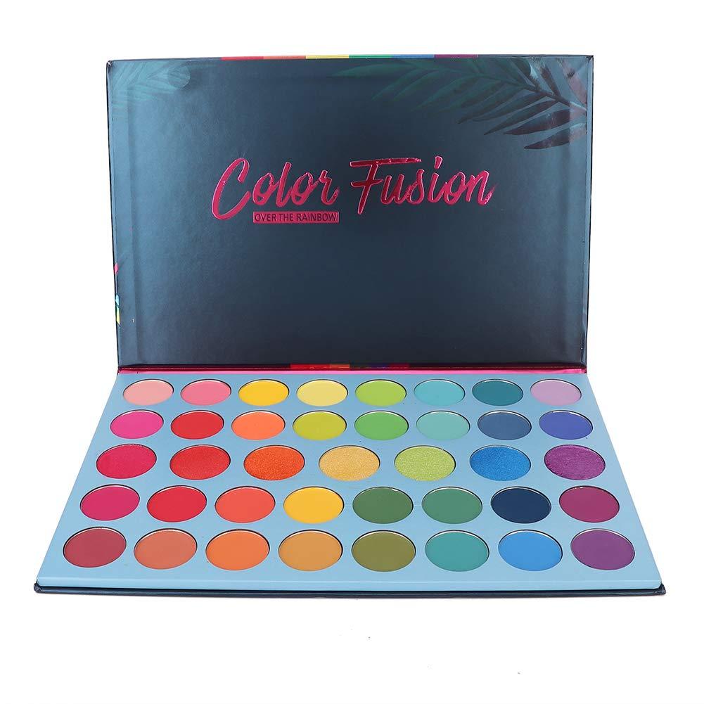 39 Colors Eyeshadow Palette Glitter Powder Palette Professional High Pigmented Makeup Pallet Colorful Rainbow Color Makeup Eyeshadow Palette Matte Shimmer Glitter Eye Shadow Pallet