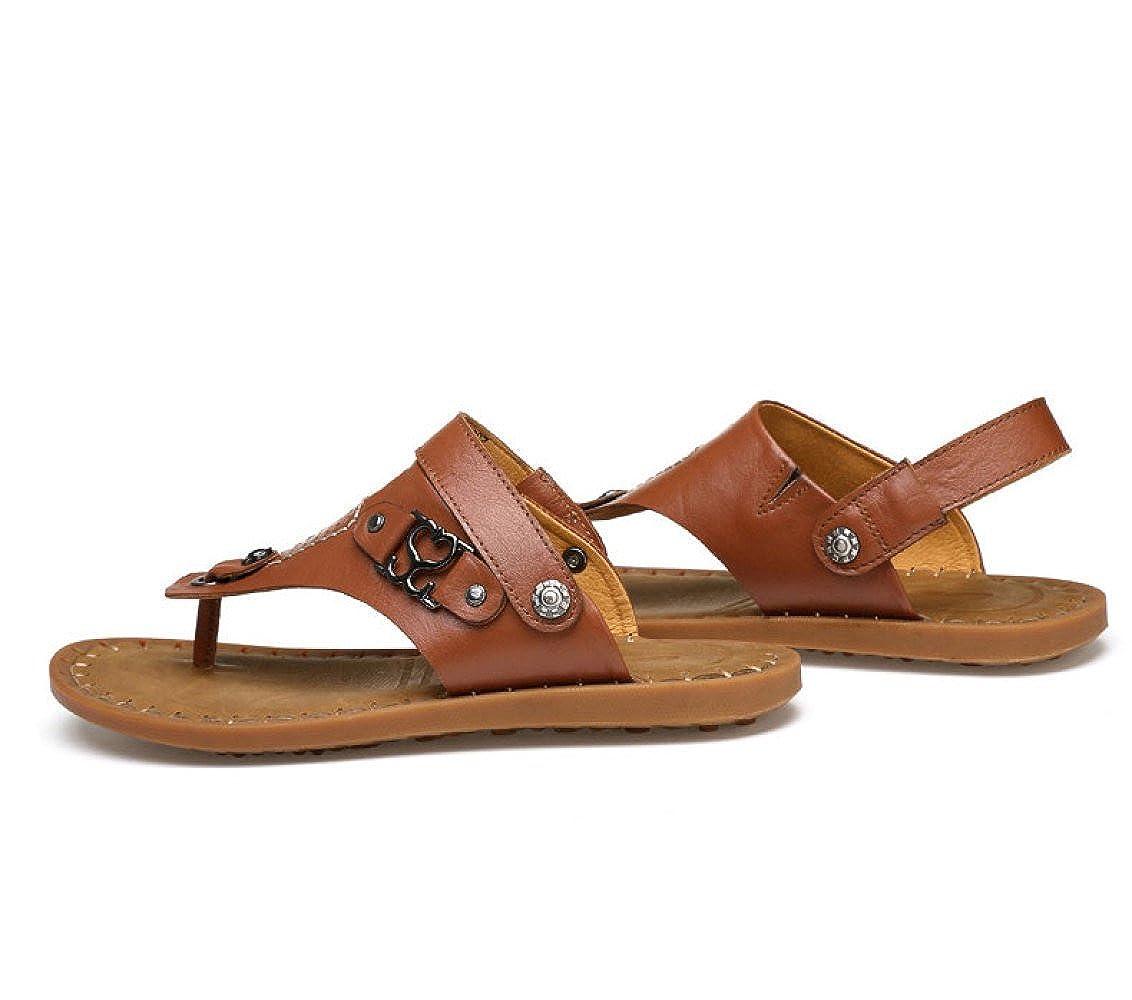 LEDLFIE Handgefertigte Hausschuhe Rutschfeste Sandalen und Hausschuhe Sommer Hausschuhe Handgefertigte Sandalen Strandschuhe LightBraun d93779