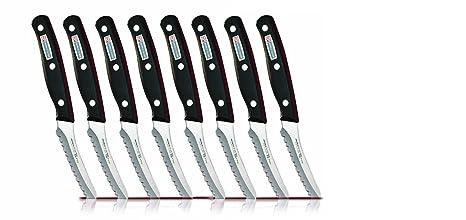 Miracle Blade - Juego de 8 cuchillos de carne + 1 cuchillo ...