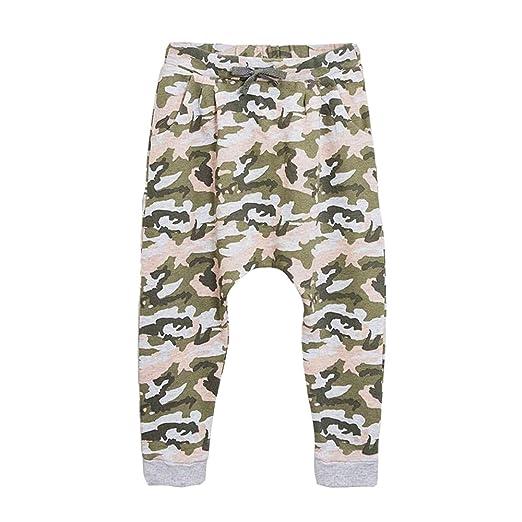 b91b6ec2c5 Little Boys Camo Tracksuit Bottoms Elastic Waistband Skinny Joggers Sweat  Pants