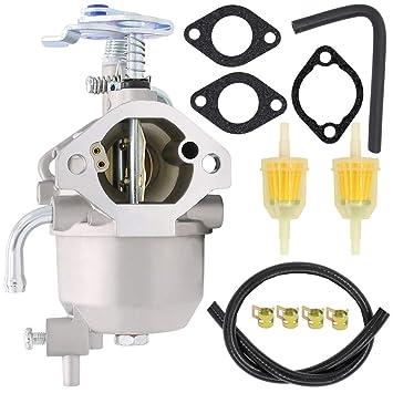 15003-2943 Carburetor Assembly for Kawasaki KAF400 15004-0953 2005-2019  MULE 600 610 XC SC SX Models - Mule 610 Carburetor