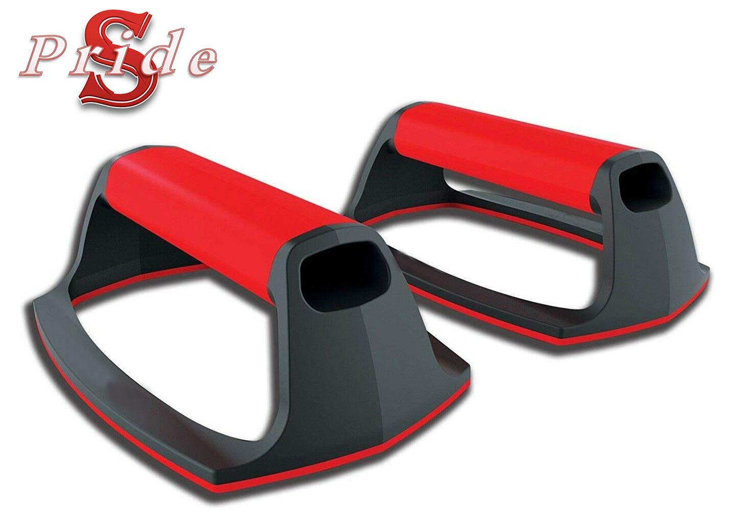 Fitness Push-Up Stands Exercise Handles Non-Slip Bars Padded Grips Gym Training