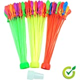 Spot On - Instant Water Balloons Filler – Fills and Ties 100 More Water Balloons in a Minute, Water Balloons Army , Easy Prepare 111 Self Sealing Balloons As Seen on TV!