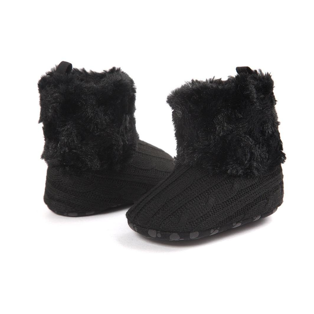 Winter Warm Infant Newborn Snow Boots Shoes for Prewalker Boy Girl Gray Womail Baby Boots