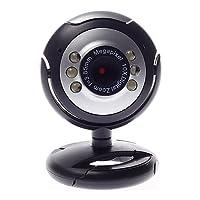 Webcam Plug Play Compativel Skype Messenger Função Snapshot Microfone Integrado Modo Noturno