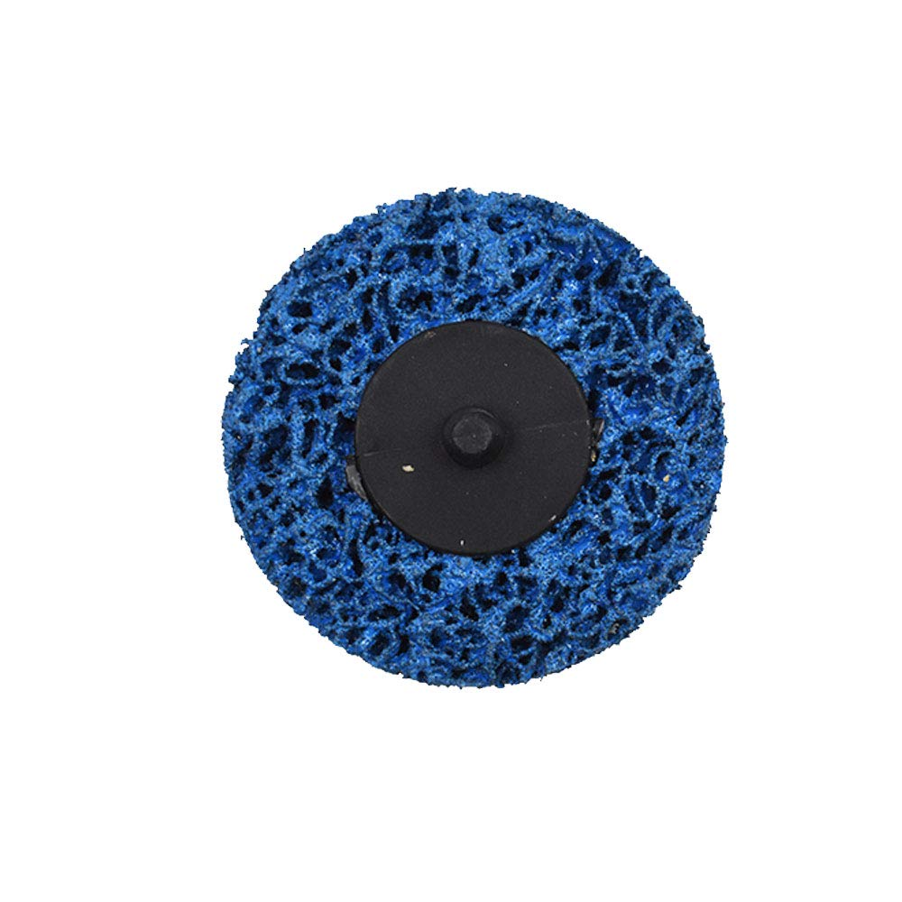 YSMN 5 Pcs 3 Inch Quick Strip Discs Easy Change Roloc Discs Clean /& Strip Disc Stripping Wheel for Angle Grinders-Removes Rust Paint Clean Welds Rust and Oxidation Removal Blue