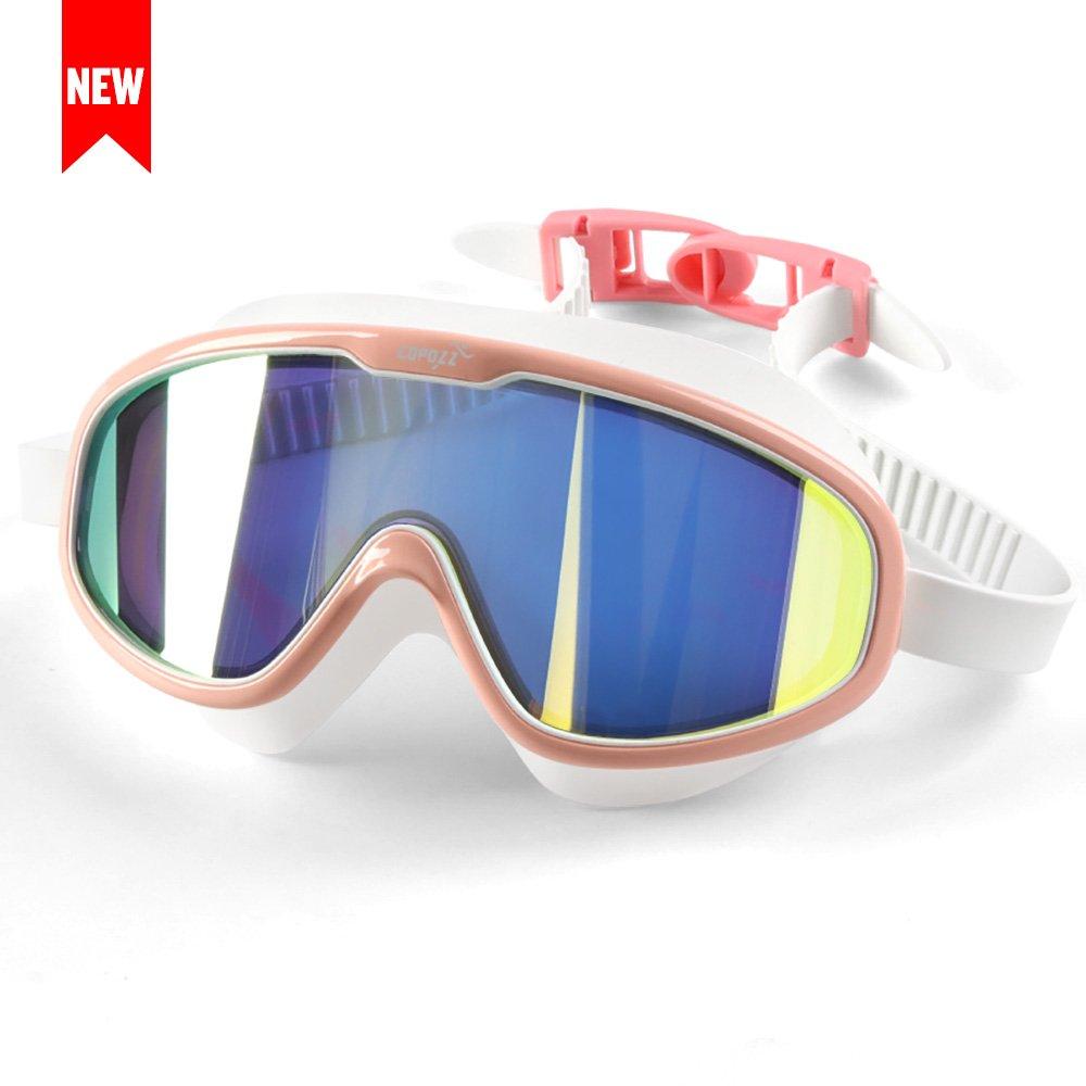 91fb4220c2 Galleon - COPOZZ Swim Goggles With Big Frame