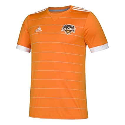 Amazon.com   adidas Youth Houston Dynamo Soccer Jersey Home Replica ... 922f4db5f