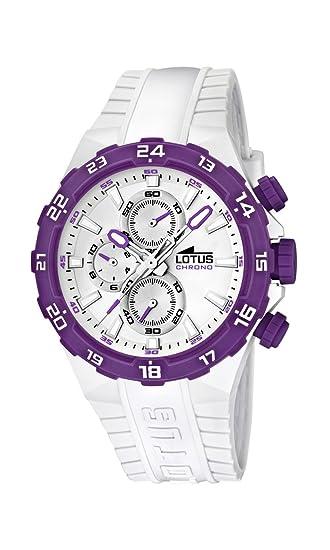 ea2c9162022e Lotus 15800 8 - Reloj analógico de cuarzo para mujer con correa de  plástico