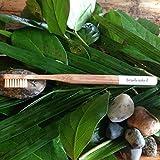 Brush Naked Bamboo Toothbrush, Adult Medium (White)