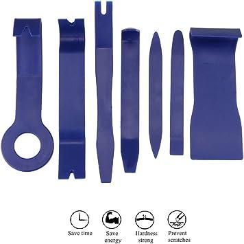 Metal Voiture Removal Pry Tool Kit Garniture Porte Clip panneau Dash Audio Radio Intérieur DS
