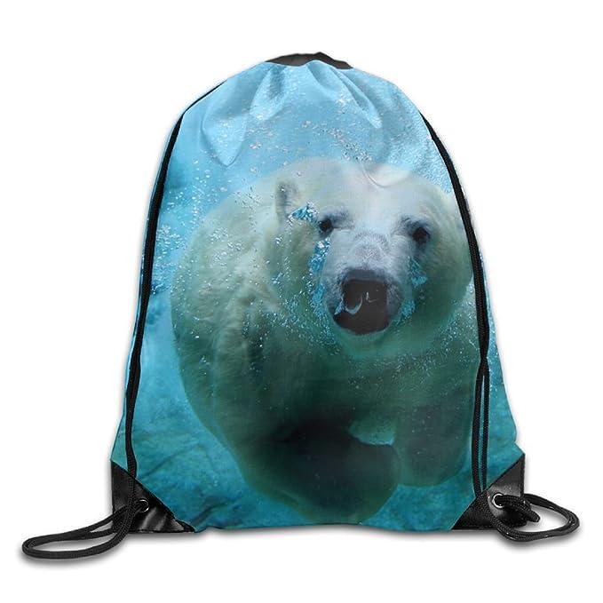Amazon Com Polar Bear Cool Pattern Diy Pattern Drawstring