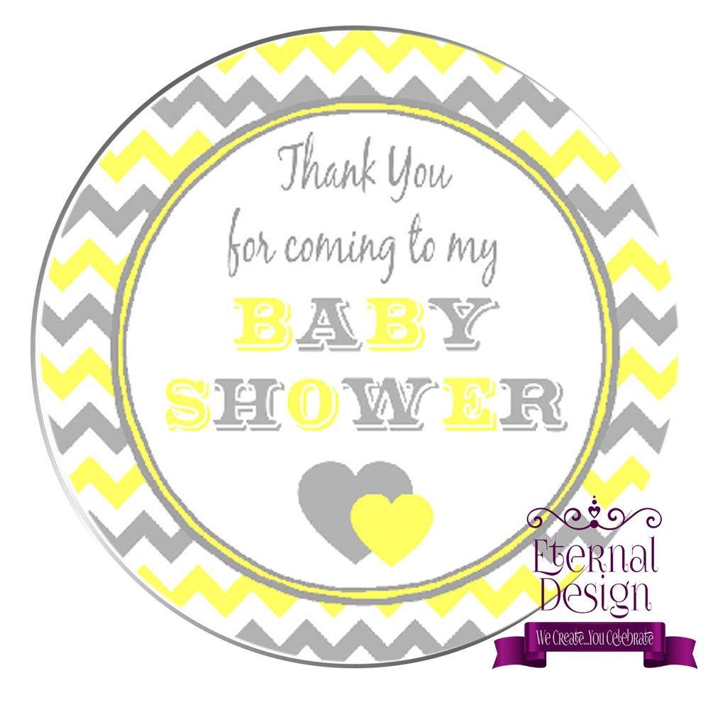 Eternal Design 24 x 45mm Baby Shower White Stickers BSCS 7