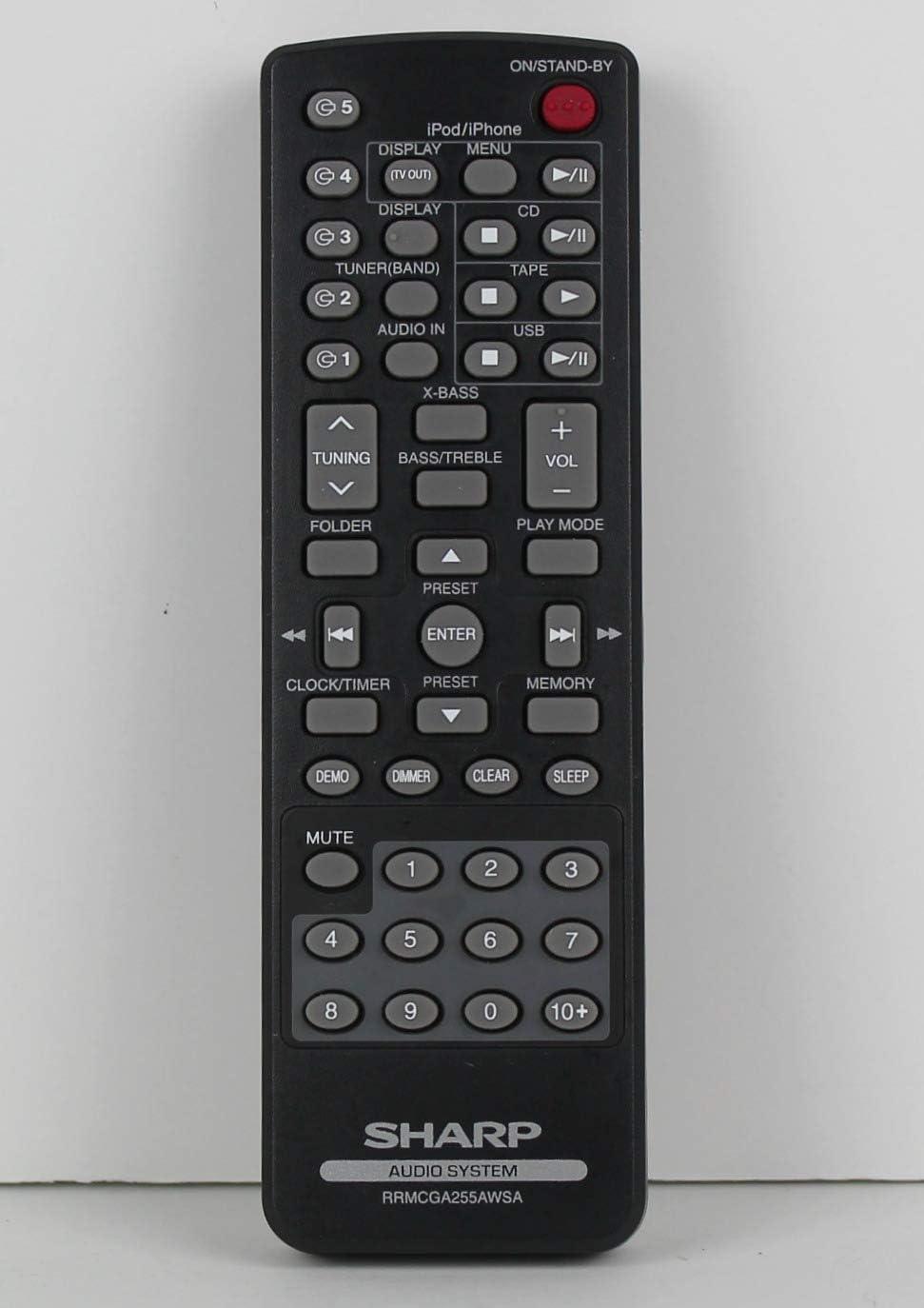 Part OEM Sharp 0057528RRMCGA255AWSA Genuine Original Equipment Manufacturer
