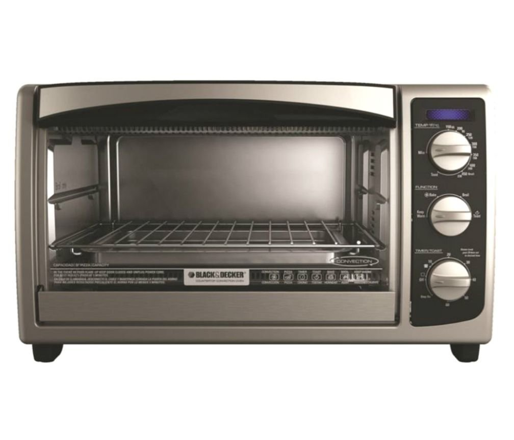 (Ship from USA) Applica TO1675B BD 6 Slice Toaster Oven SS /ITEM NO#E8FH4F8544219
