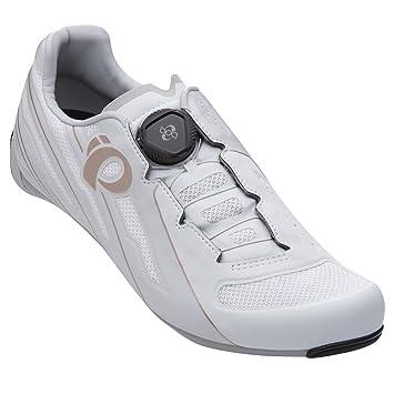 PEARL IZUMI Race Road V5 Zapatillas Ciclismo, Mujer, Blanco/Gris, 41: Amazon.es: Deportes y aire libre