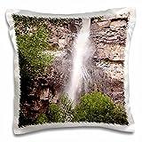 Bob Kane Photography Waterfall - Cascade Falls 02 - 16x16 inch Pillow Case (pc_119992_1)