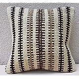 12X12 African Mudcloth Pillow Cover Mud Cloth Kilim Cushion Small Sofa Pillows
