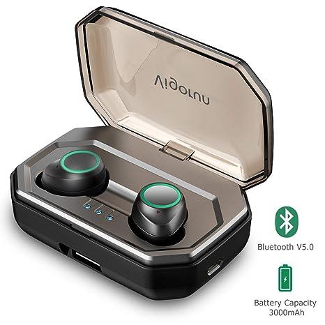 Auricolari Bluetooth 5.0 Vigorun Cuffie Bluetooth Wireless Senza Fili  3000mAh Custodia da Ricarica 100ore Auricolare Stereo db21f4402116