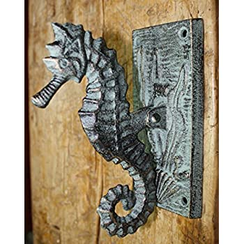 Rustic /& Primitive Crafting Supplies was Manufactured to Look Antique Cast Iron Antique Style Squirrel Acorn Door Knocker Nut Cracker Man Cave Garden Inspiration for A Project